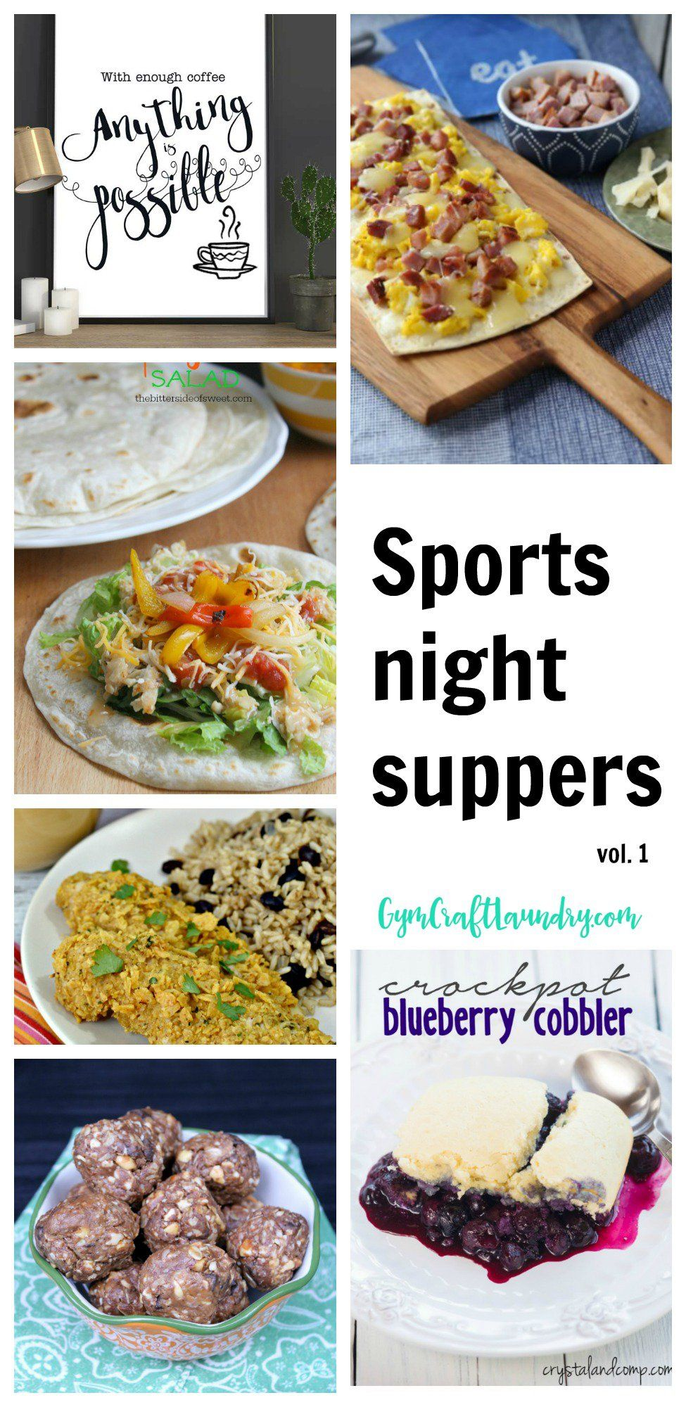 sports night suppers: quick meals for busy families | budget meals
