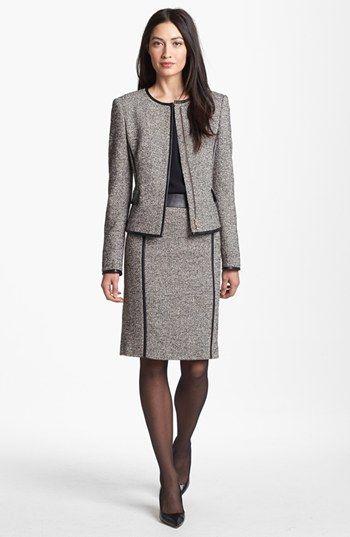 697ab5755 BOSS HUGO BOSS Jacket, Blouse & Skirt available at #Nordstrom ...