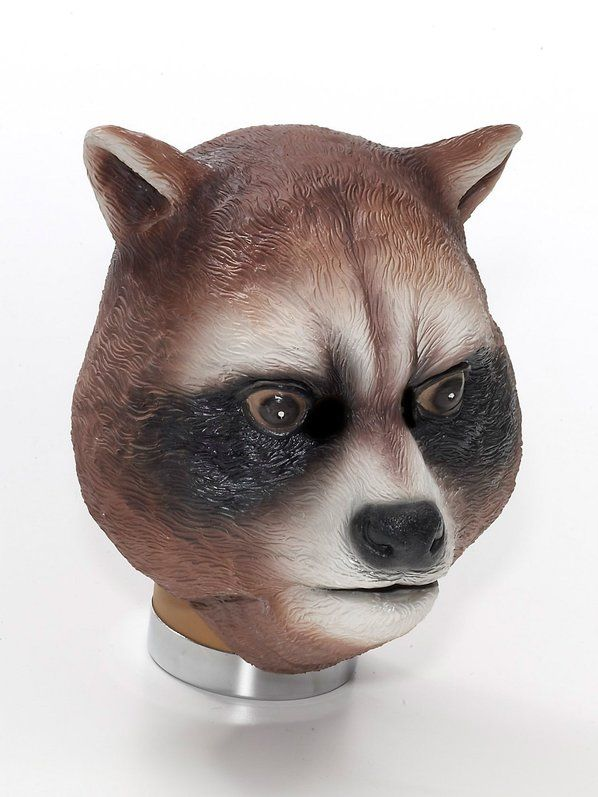 Halloween Adult Raccoon Latex Mask