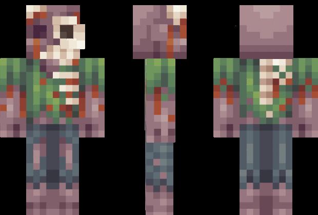 Minecraft Spielen Deutsch Zombey Skin Fr Minecraft Pe Bild - Skins para minecraft pe zombie