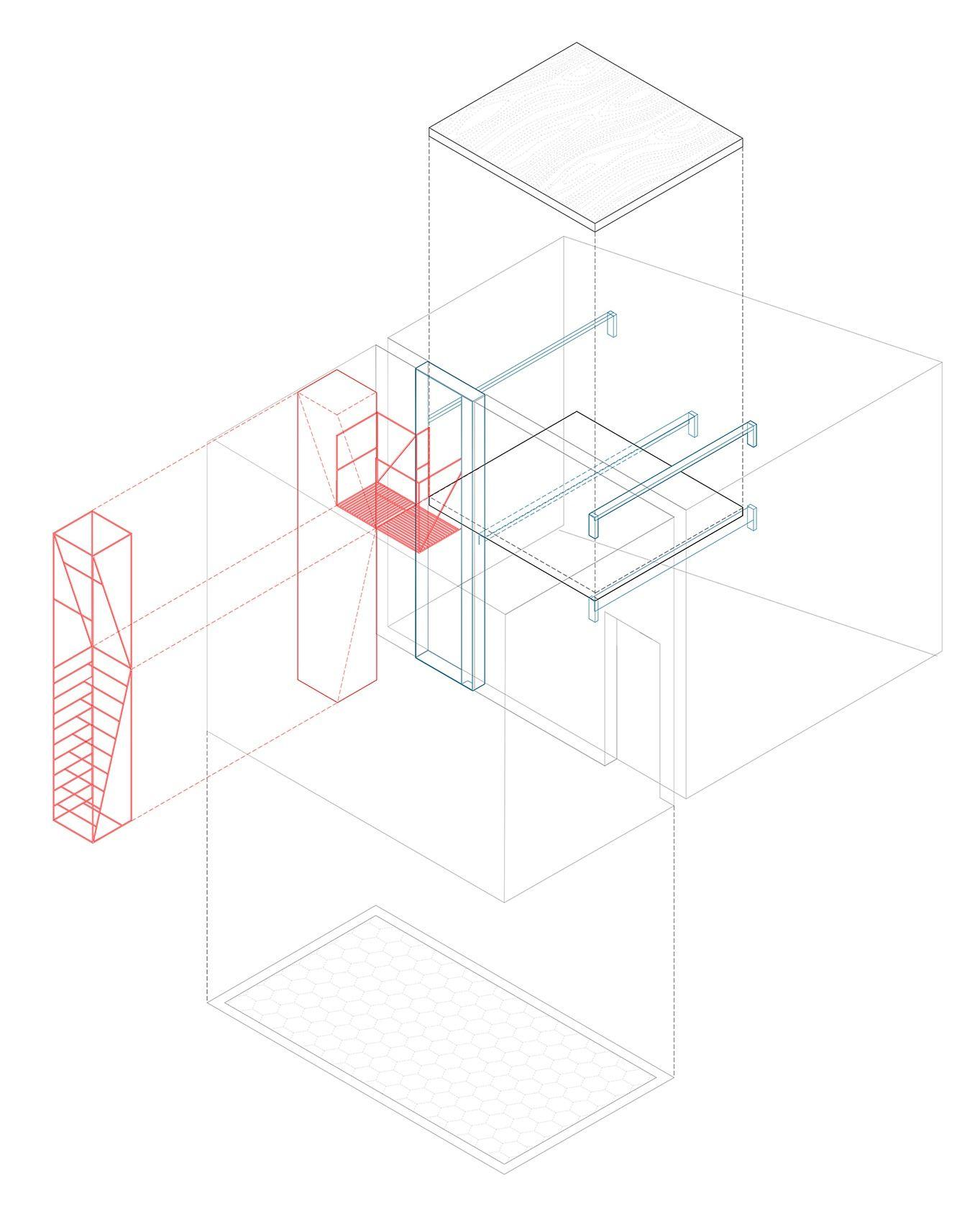 "En Detalle: Escalera Casa ""C"" / Francesco Librizzi, Matilde Cassani"