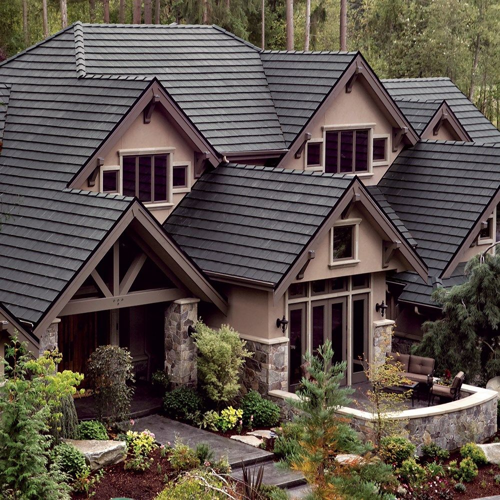 Pin By Brandee Jelinek On Roof Concrete Roof Tiles House Paint Exterior Roof Tiles
