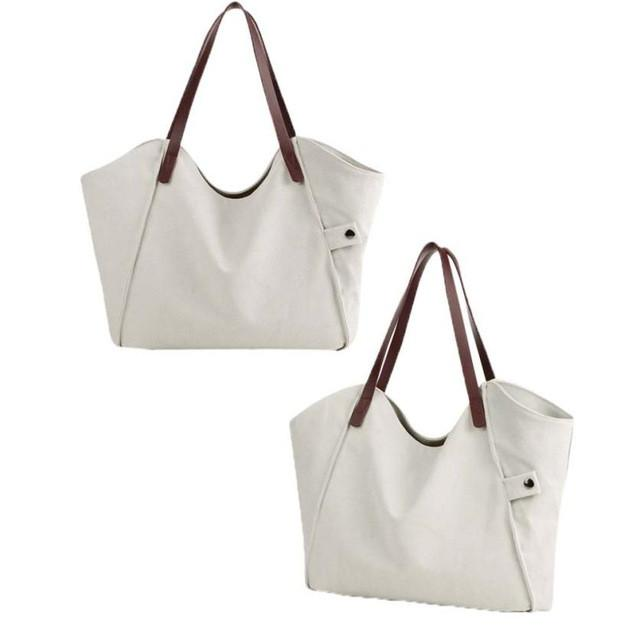 03406853f2a7 Brand Name  xiniu Shape  Casual Tote Main Material  Canvas Handbags Type   Totes Lining Material  Polyester Number of Handles Straps  Double Style   Fashion ...