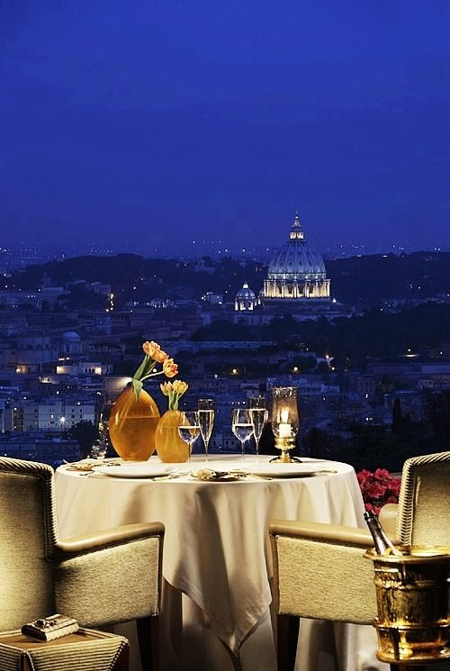 Luxury Dining. Best restaurants in rome, Romantic