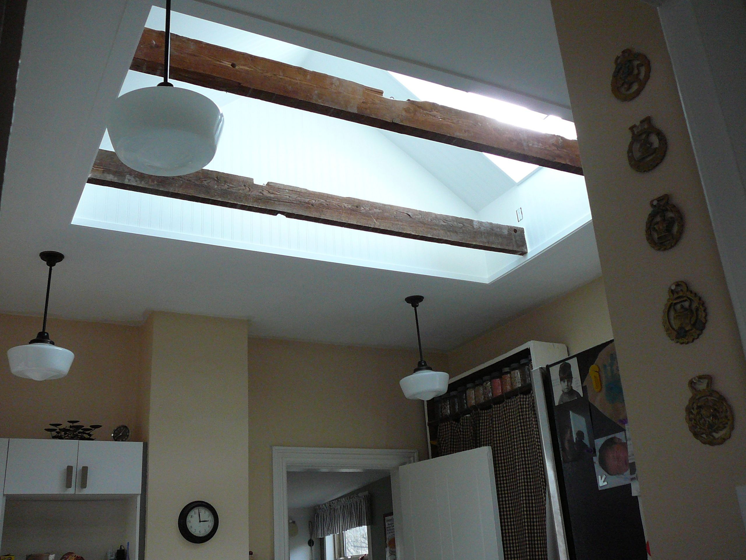 The renosense men were proud to install the very first for Solar powered blinds for skylights