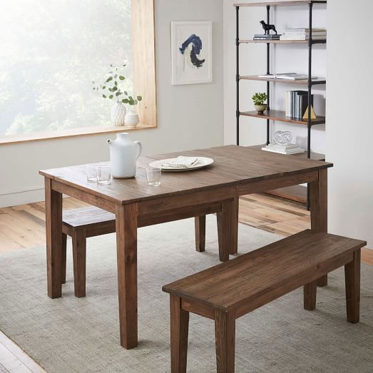 Too Similar To Mestler But Has A Leaf Bedford Expandable - Dining table with expandable interior leaves