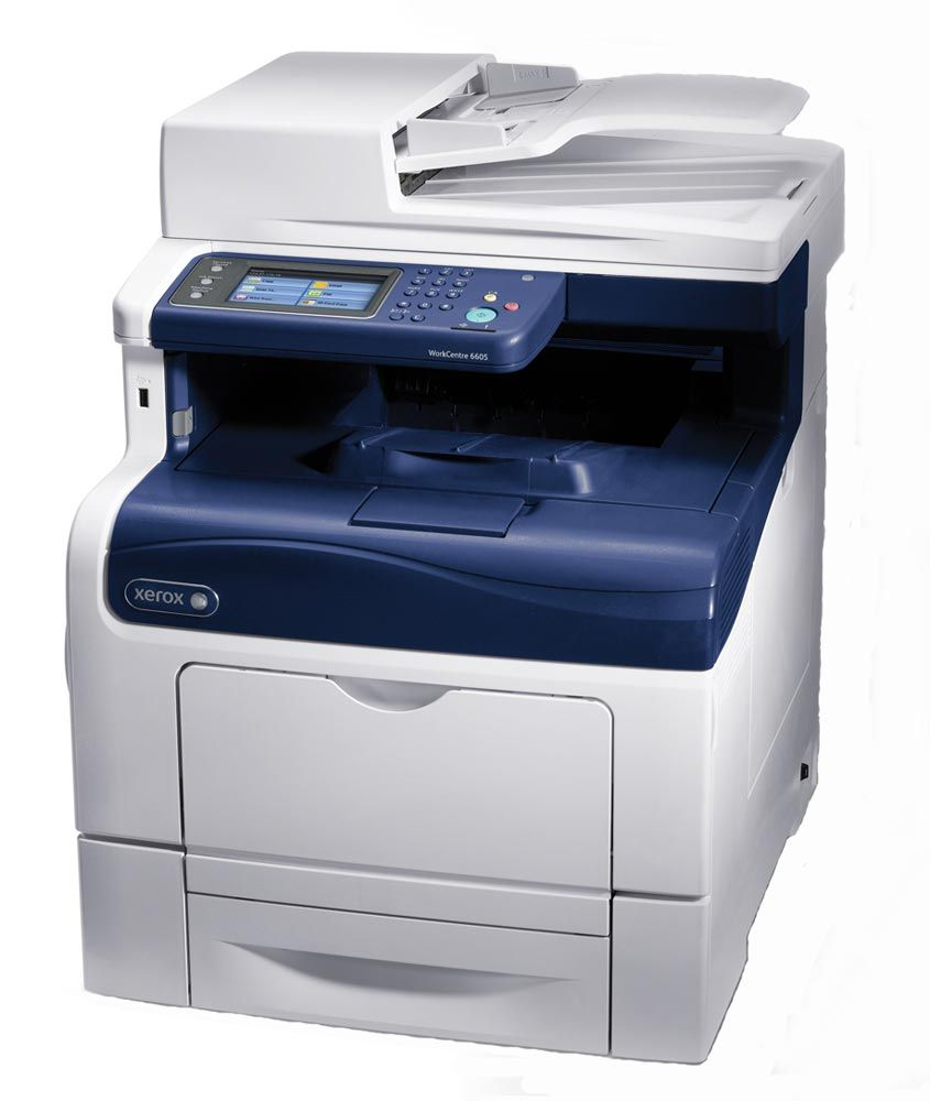 xerox workcentre 6605dn color multifunction printer