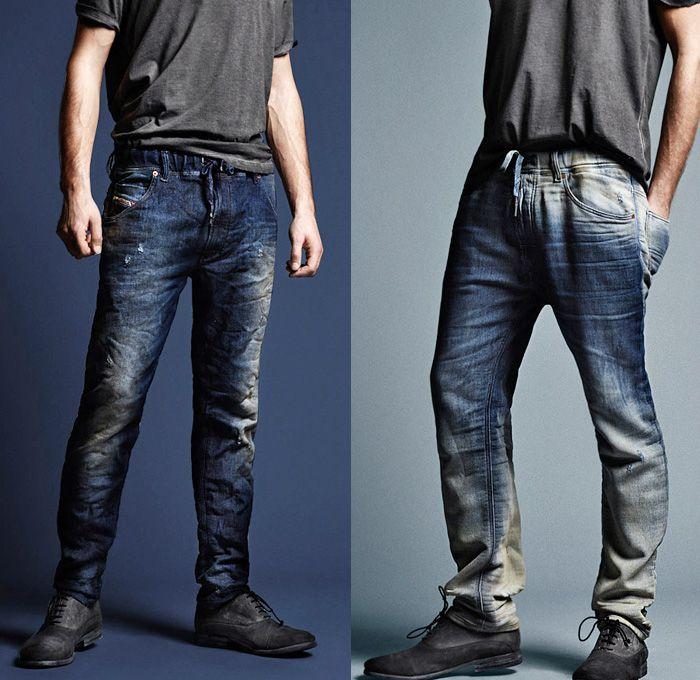 07) Jogg Jeans Denim Fit, Wash & Style - Diesel 2013-2014 Fall ...