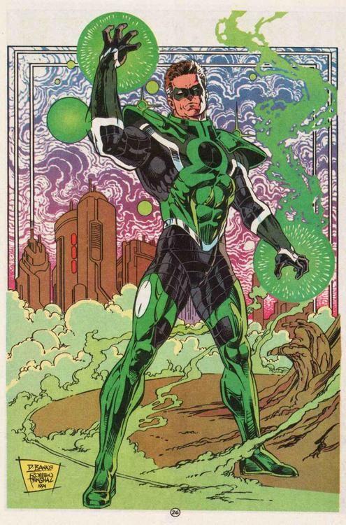 Hal Jordan De Linterna Verde A Espectro Pasando Por Parallax Linterna Verde Personajes De Dc Comics Green Lantern Corps