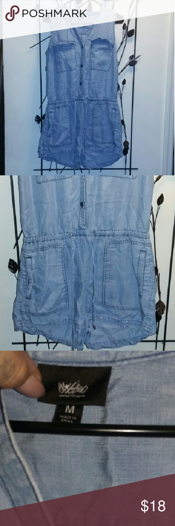 5d870a9a448 ... don t do this romper justice. Very comfortable. Some stretch. Gentle  worn twice. In excellent condition. Mossimo Supply Co. Pants Jumpsuits    Rompers
