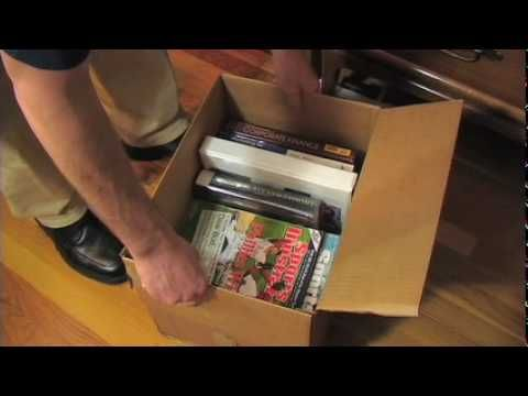 How To Pack Books And Magazines Youtube Moving Tips Book And