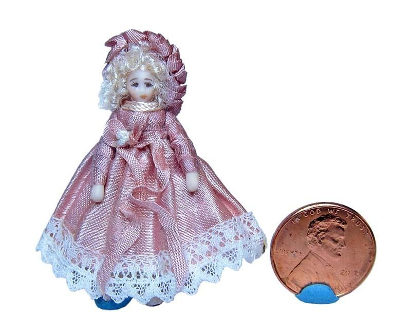 "Liz Staryk - 1.875"" porcelain doll"