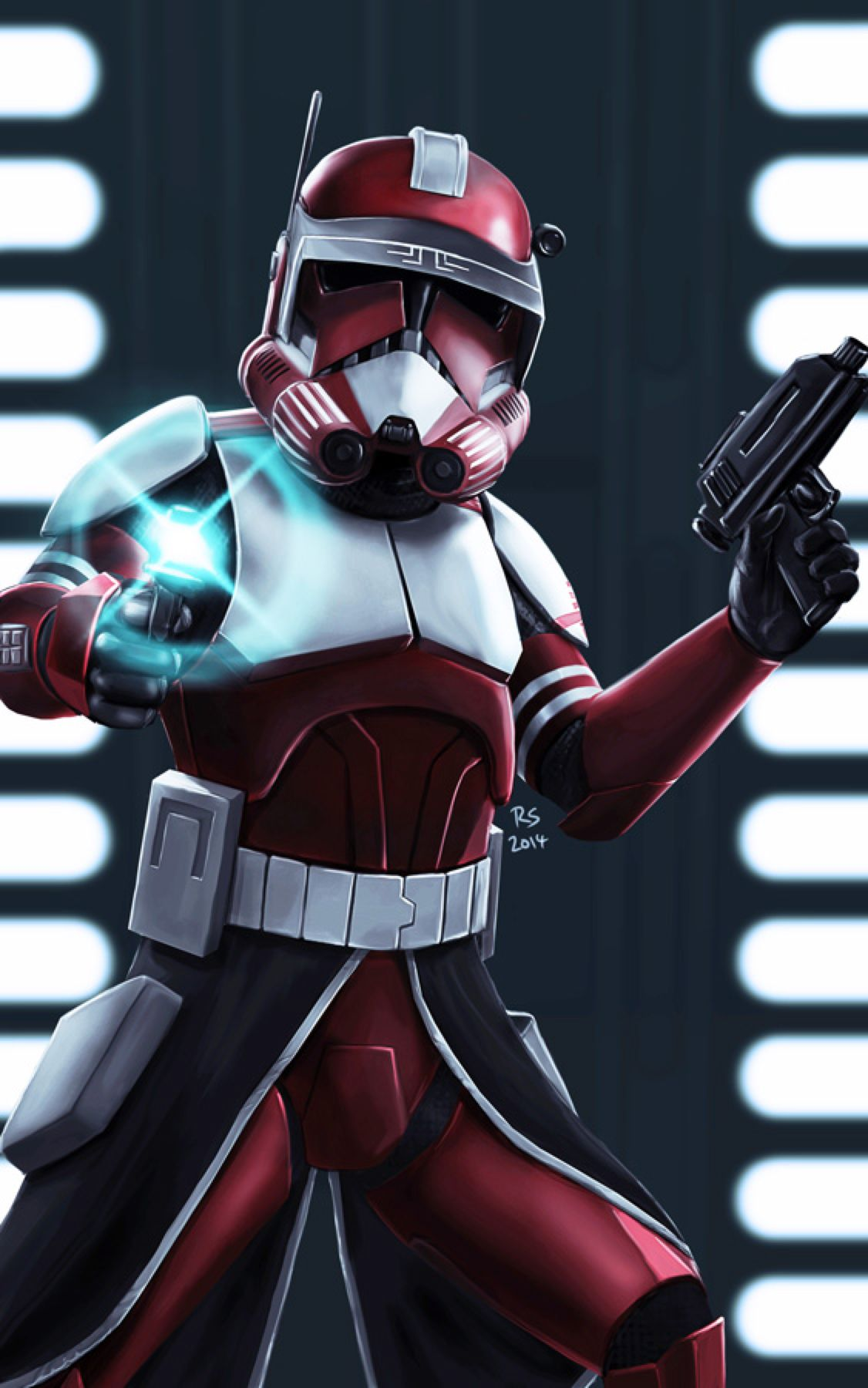 Star Wars Clone Commander Fox Art Creativehobbystore