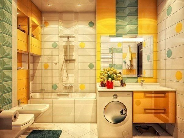 Modern Bathroom Colors for Stylishly Bright Bathroom ...