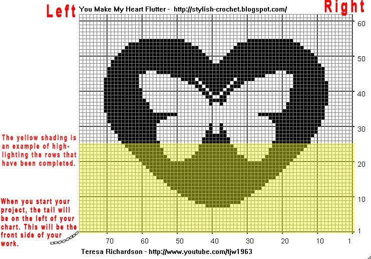 How To Read Filet Crochet Charts Carnavalsmusic