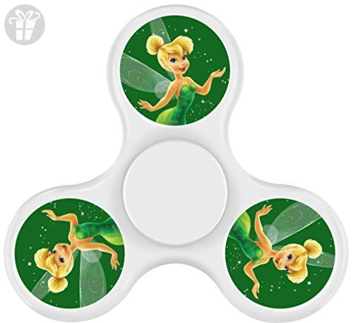 GGOO TinkerBell And Neverbeas Fidget Spinner, Fashion Design and Images Tri-Hands Toy - Fidget spinner (*Amazon Partner-Link)