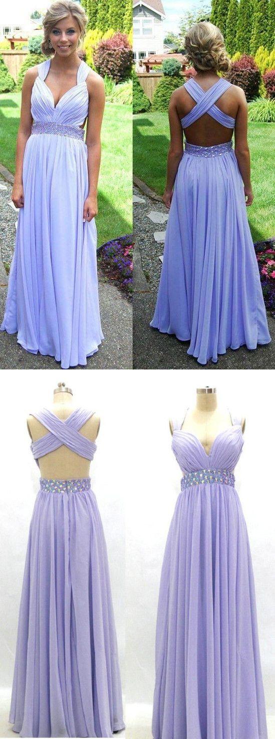 Popular prom dresslavender prom dresssweetheart prom dressbeading