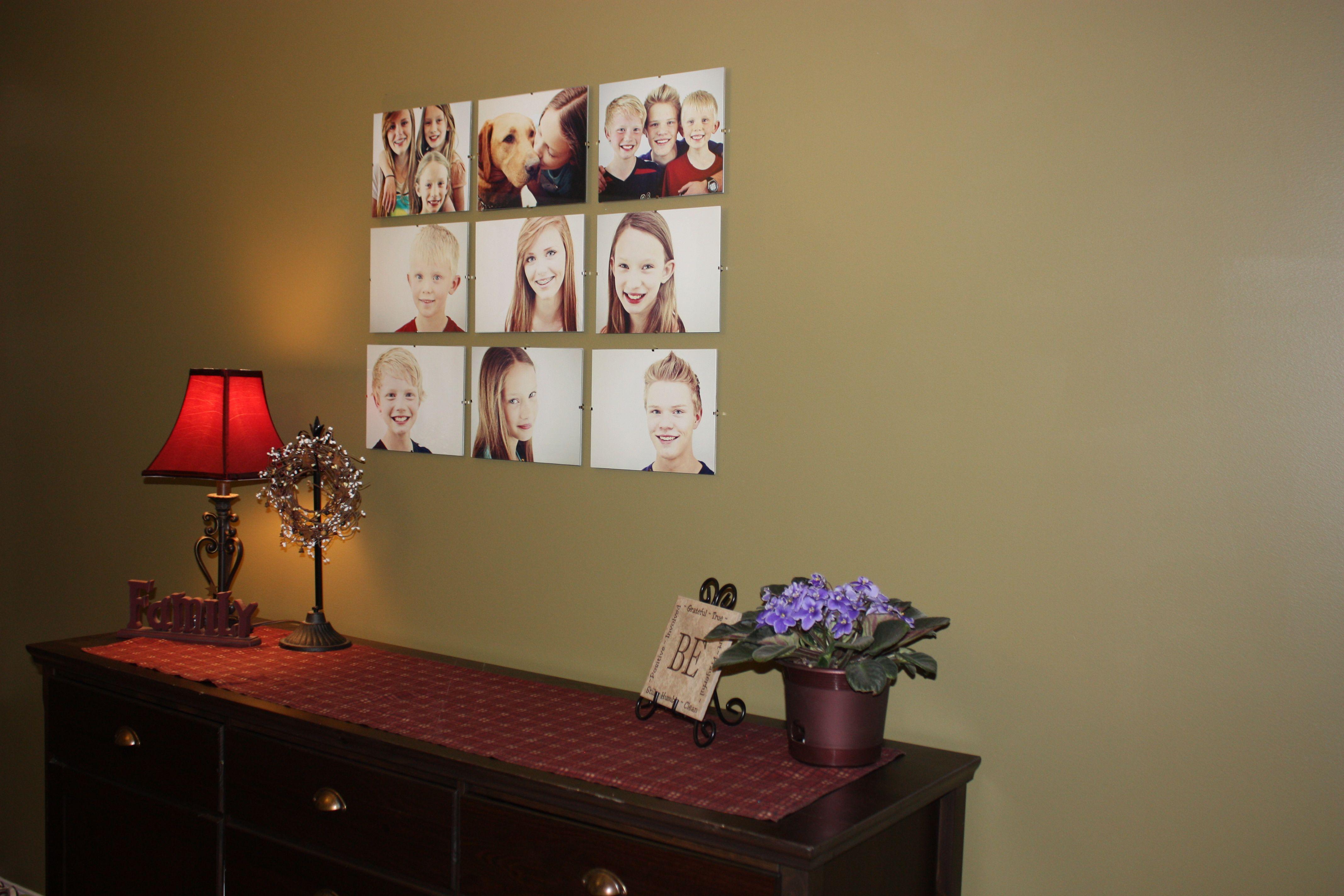 frameless frames collage
