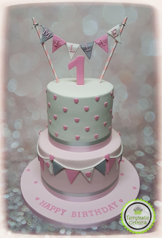 Fabulous 27 Inspired Image Of 1St Birthday Cake Girl With Images 1St Personalised Birthday Cards Xaembasilily Jamesorg