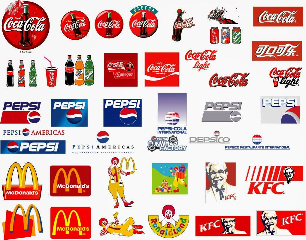 Amazing Brand Logos Images With Names Vector Collection