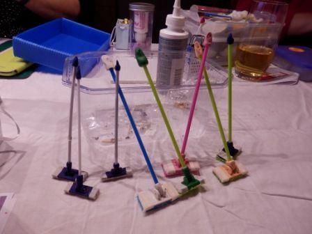 Tutorial Bodenwischer Dollhouse Miniatures Accessories How To