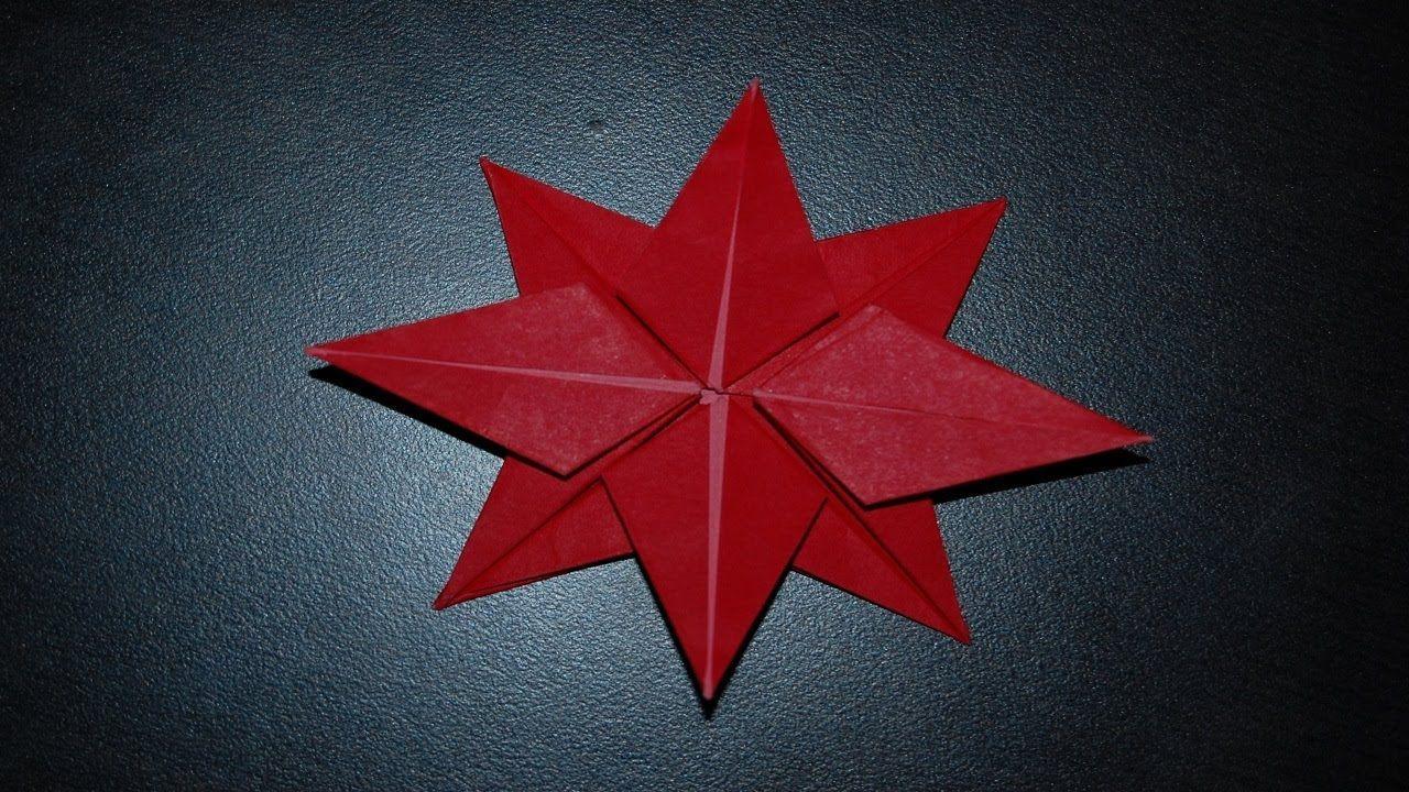 Origami Poinsettia For Christmas Videos