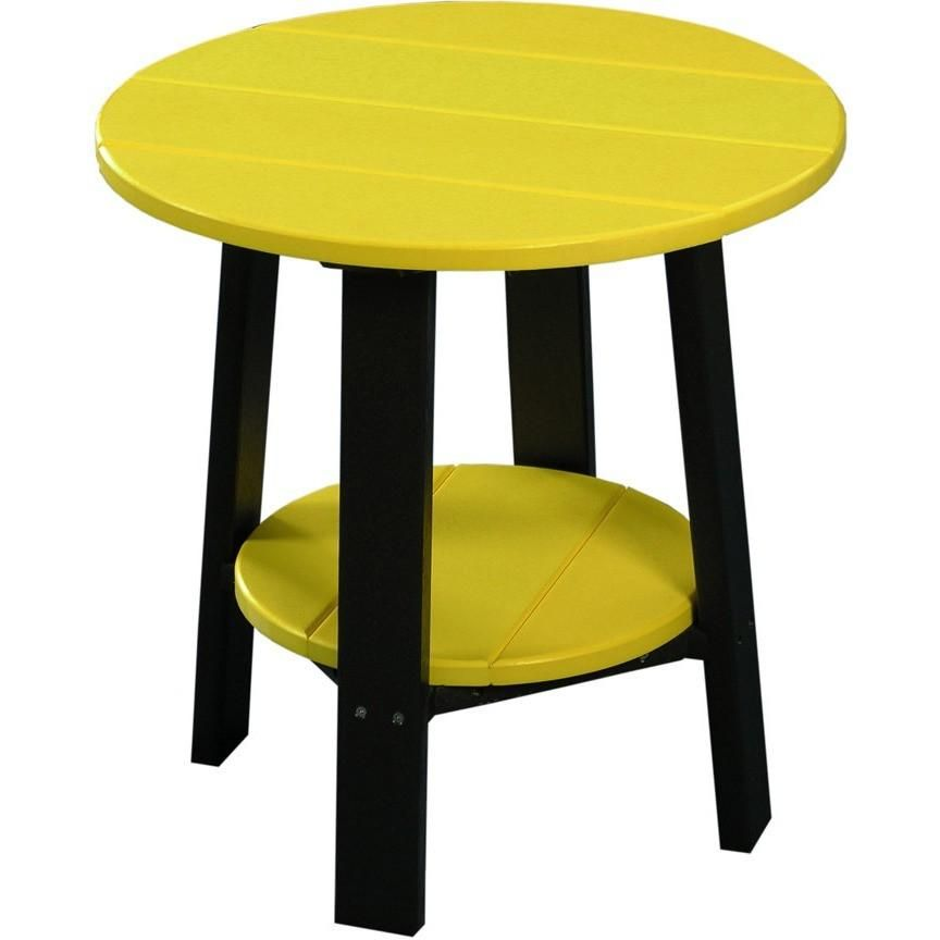 Luxcraft Recycled Plastic 21 5 Quot Deluxe End Table Plastic
