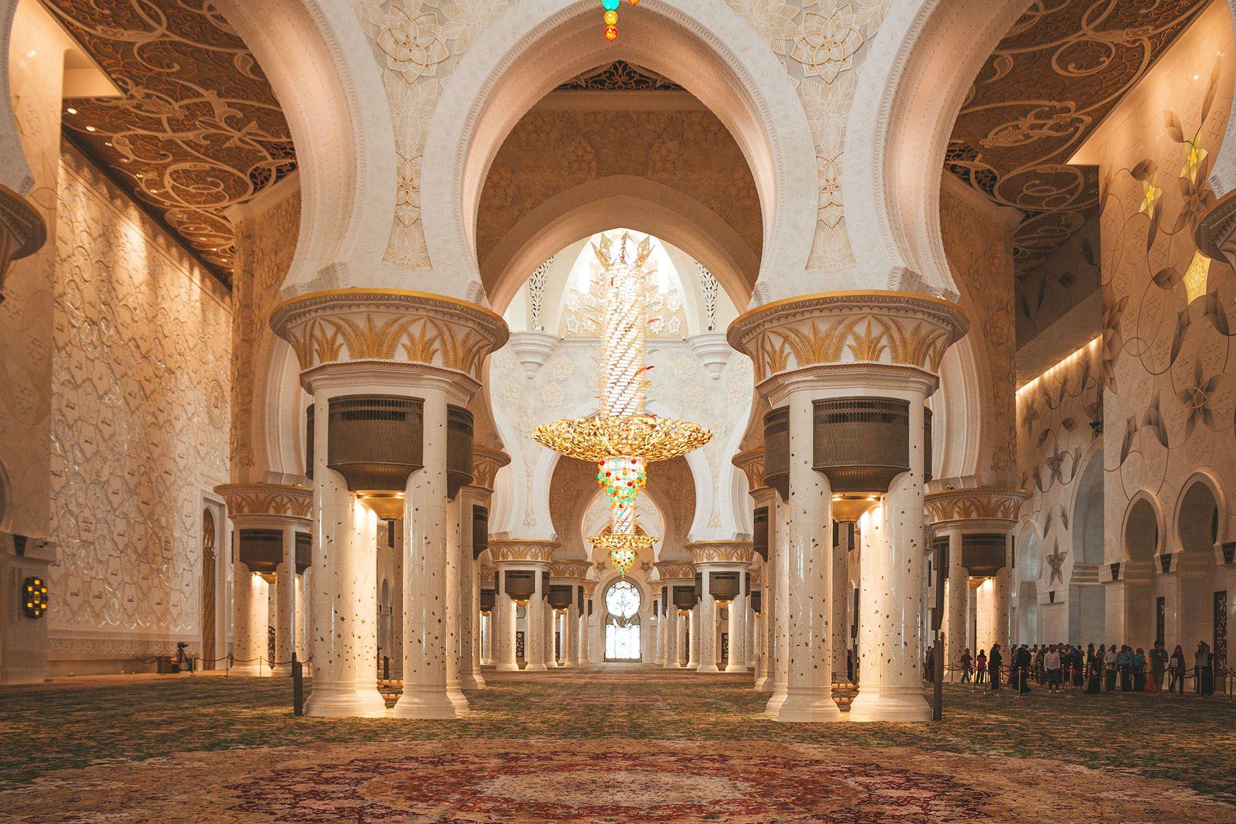 Scheich Zayid Moschee In Abu Dhabi Was Du Wissen Solltest