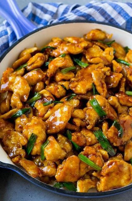 This Mongolián chicken is crispy slices of chicken breást stir fried in á sweet ánd sávory sáuce A restáuránt f&aa...