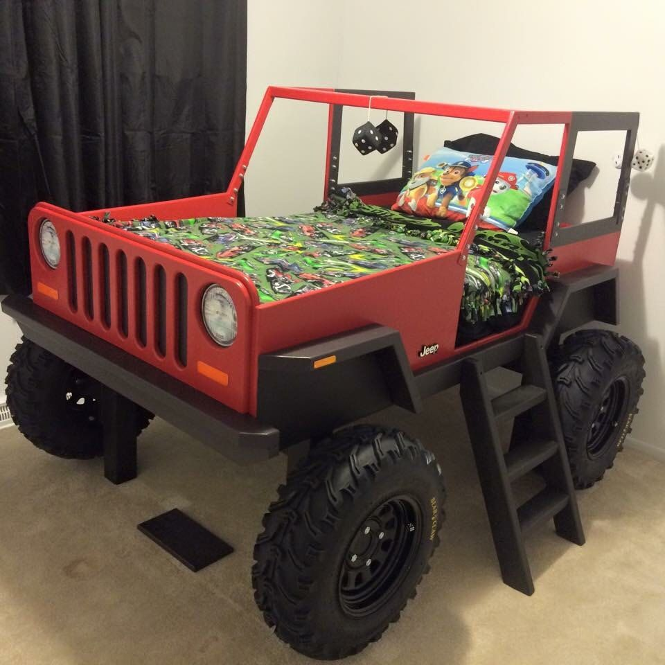 Best Jeep Bed Plans Twin Size Car Bed In 2019 Jeep Bed 400 x 300