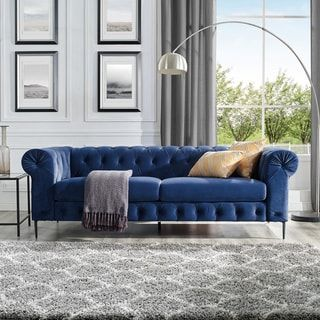 Overstock Com Online Shopping Bedding Furniture Electronics Jewelry Clothing More In 2021 Velvet Chesterfield Sofa Chesterfield Sofa Living Room Chesterfield Sofa Living