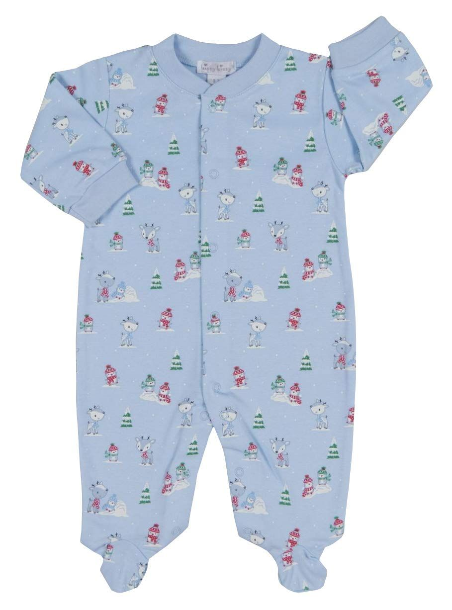 Kissy Kissy Babyboys Infant Snow Day Print Footieblue03 Months Baby Boy Clothing Baby Boy Fashion Kid Baby Boy Outfits Baby Girl Pajamas Little Boy Outfits