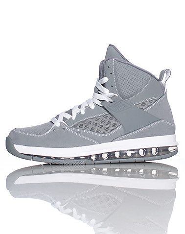 f2affea45bb64d JORDAN High top men s sneaker Lace closure Padded tongue with signature JORDAN  jumpman logo Mesh overlay on sides of shoe Cushioned sole for comfort