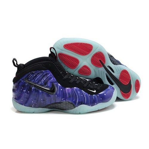 129bebff7bcac Nike Foamposite One Women Galaxy Purple Black Red Shoes For  72.20 Go To   http