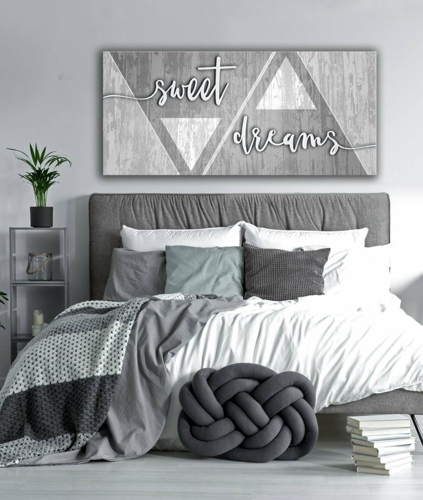 Bedroom decor wall art sweet dreams wall art sizes available