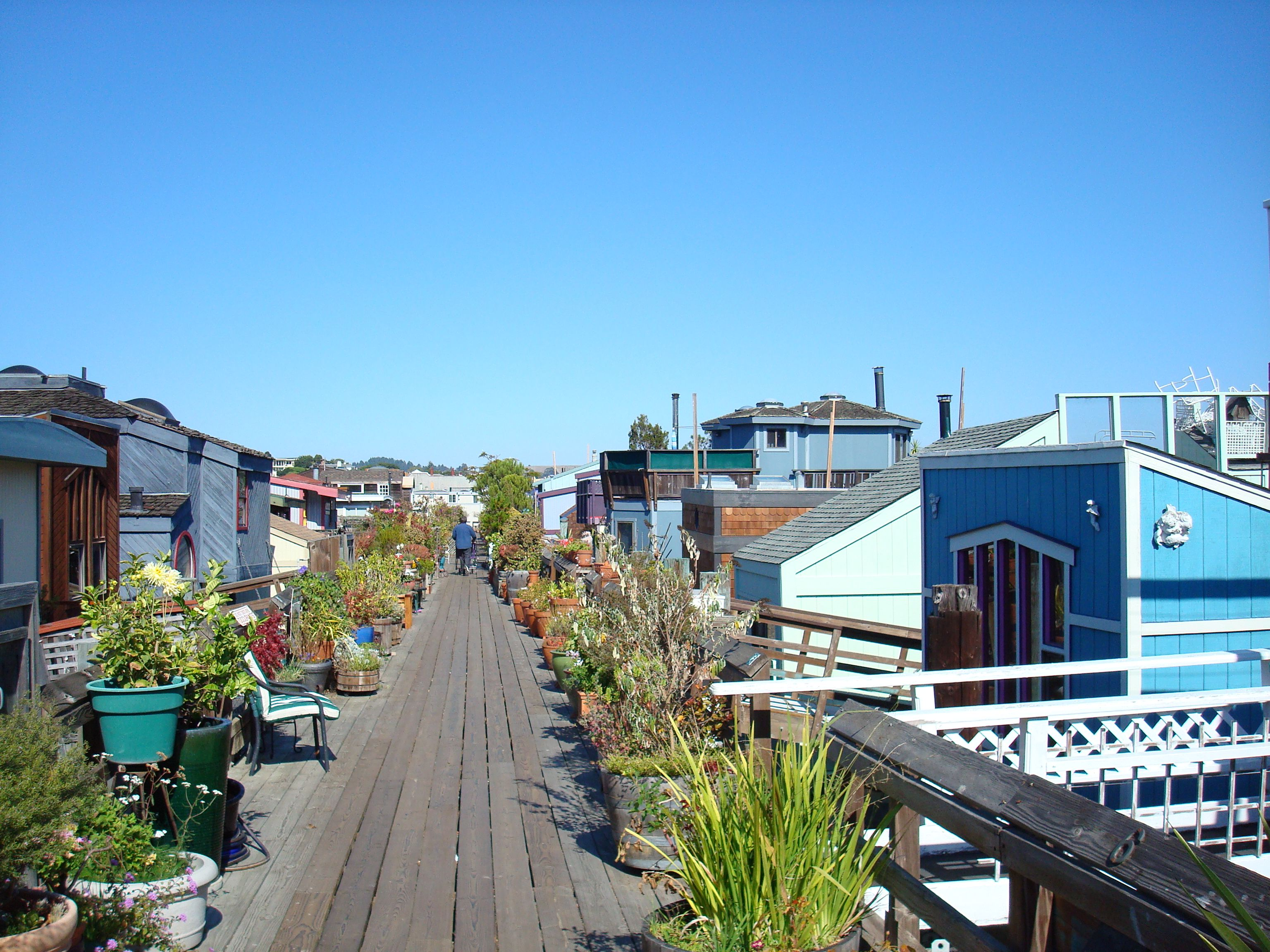 Houseboats Sausalito Ca California Rv Travel Places To