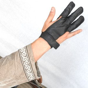 Bow Glove Left Hand /& Right Hand All size available Black /&  Beige