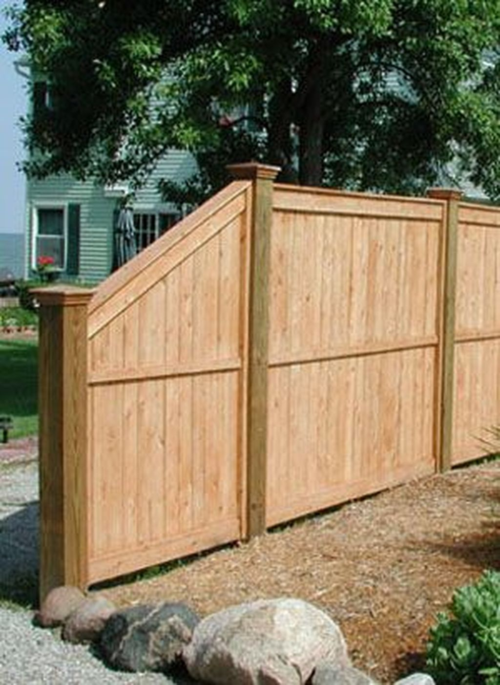 45 Affordable And Modern Backyard Fence Design Ideas Privacy Fence Designs Backyard Fences Fence Design