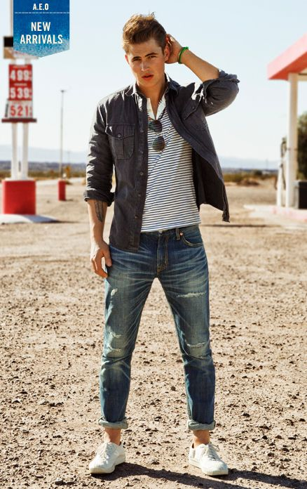 1d2cf650384 Shop American Eagle Outfitters for new arrivals in men s clothing. Free  Shipping on orders of  50 or more.