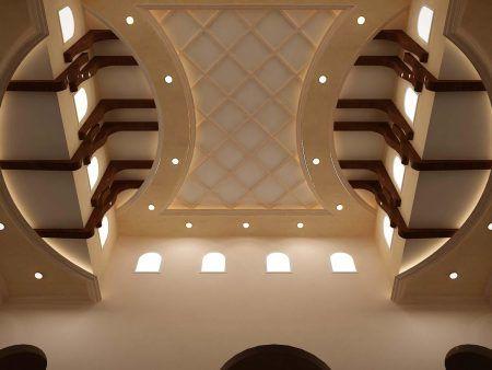 ديكورات اسقف جبس راقيه سيدات مصر Bedroom False Ceiling Design Ceiling Design Modern False Ceiling Design