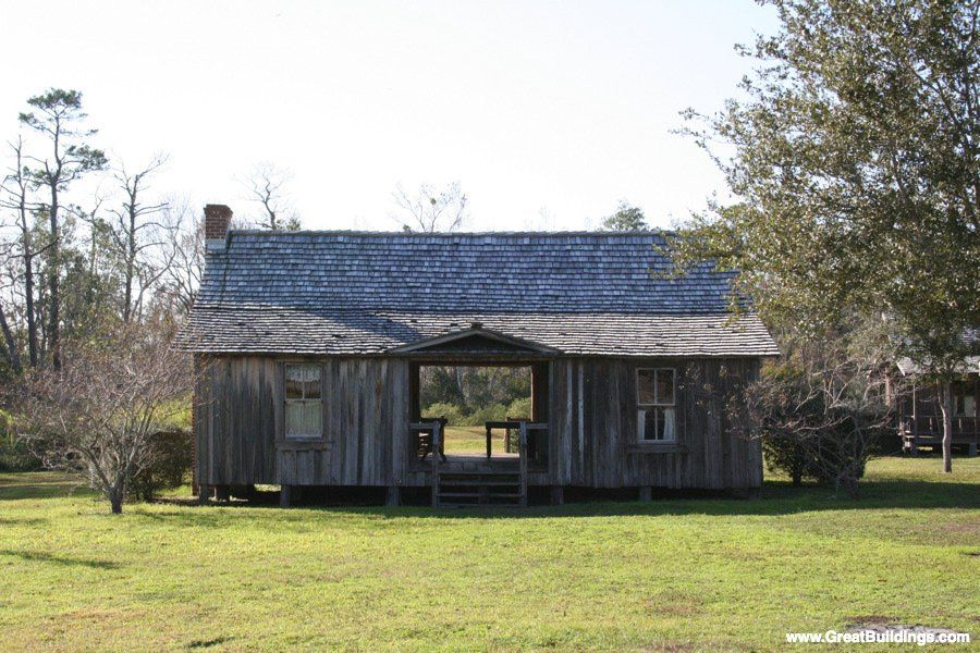 Architectureweek Great Buildings Image Dogtrot House Building