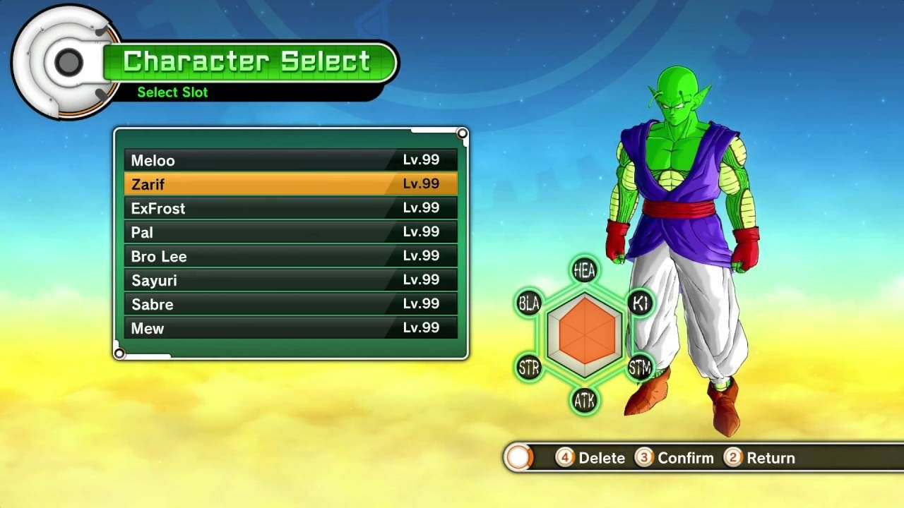 Dragon Ball Xenoverse 2 Made Character Creation Mean Something Dbz Xenoverse Character Creation Dragon Ball Dragon