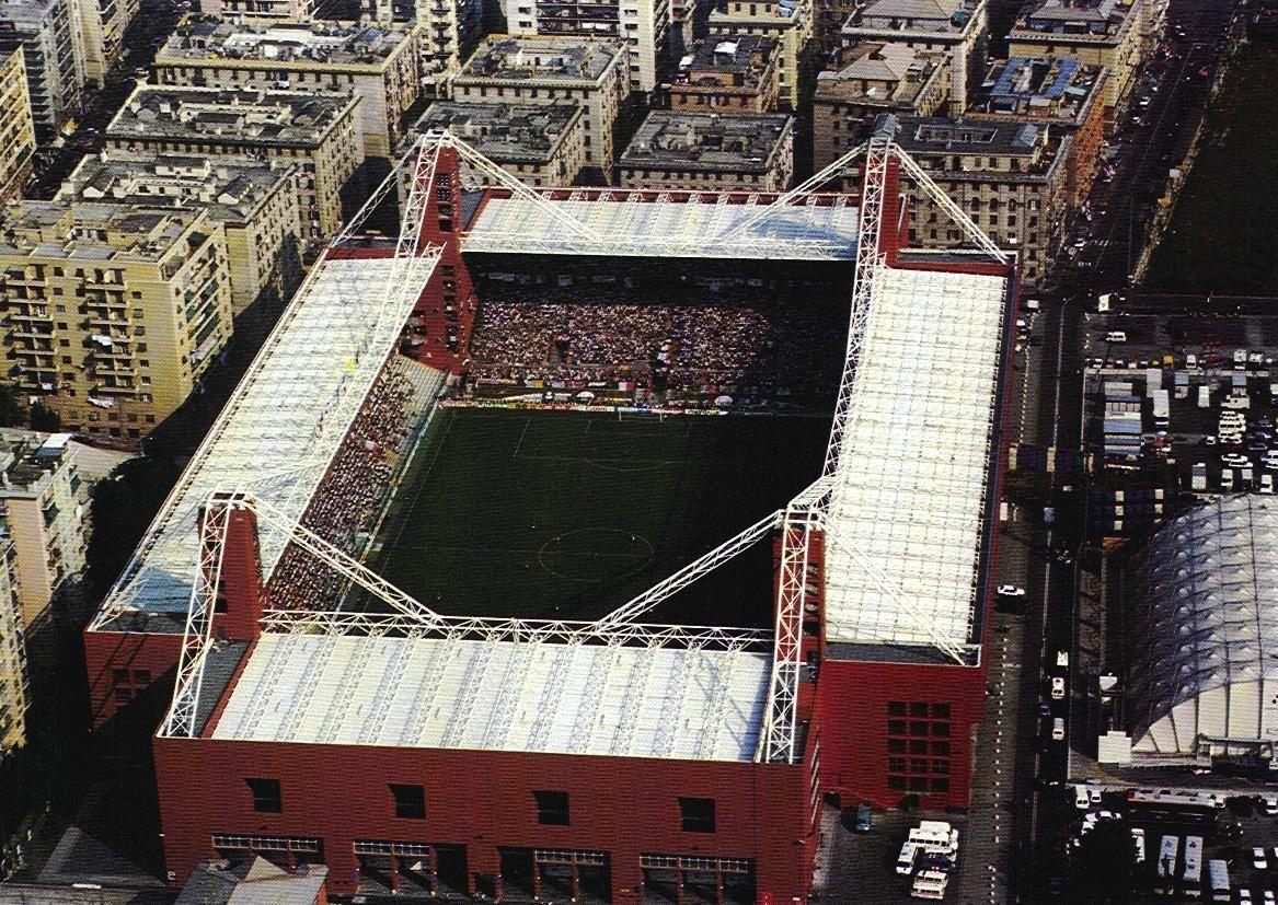 Stadio Luigi Ferraris en Genova, Liguria