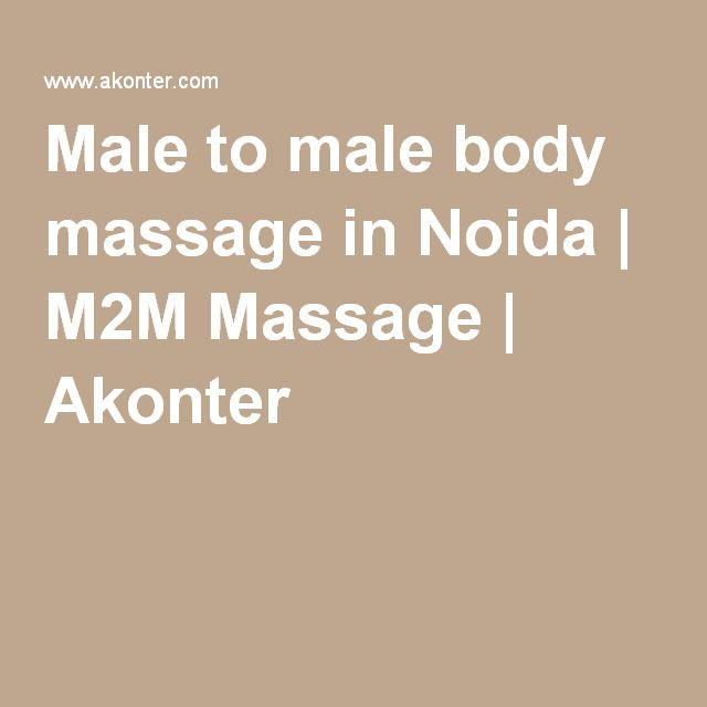 M2m gay massage