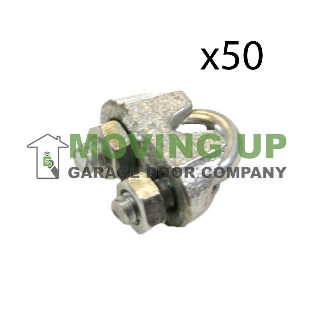 Details About Aluminum Cable Clamps 1 8 Lot Of 50 Aircraft Cable Galvanized Garage Door Company Ebay The 100