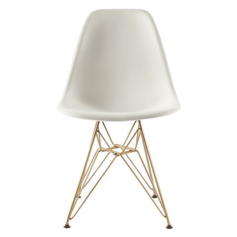 Eiffel Chair With Gold Legs Legs Desk Chairs And Brass Laragh