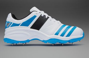 adidas Howzat Fs Ii Spikes - Mens Cricket Shoes - Running White ...
