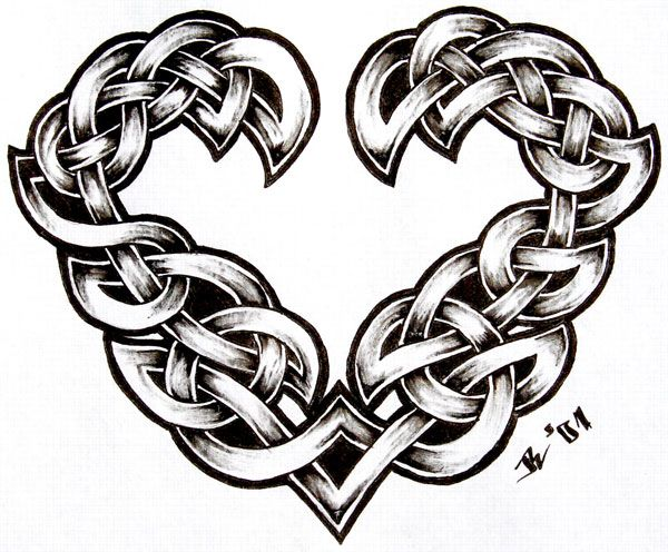 Celtic Tattoos For Women Designs And Meanings Keltisch Hart
