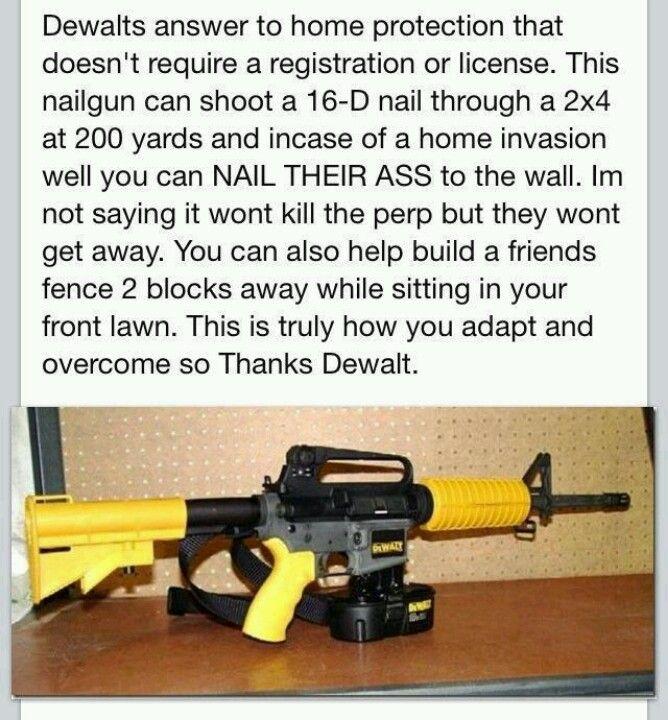 POLITICAL HUMOR: DeWalt home protection   Memes - Humor   Pinterest ...
