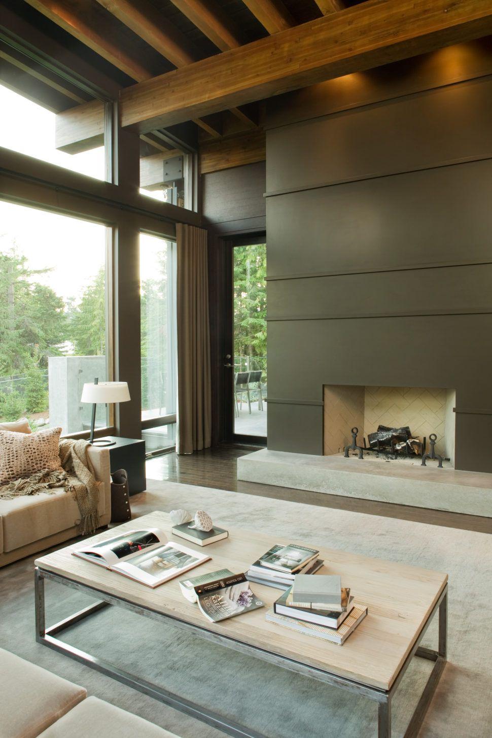 Living Room Interior Design Pdf: COMPASS POINT VILLA, WHISTLER